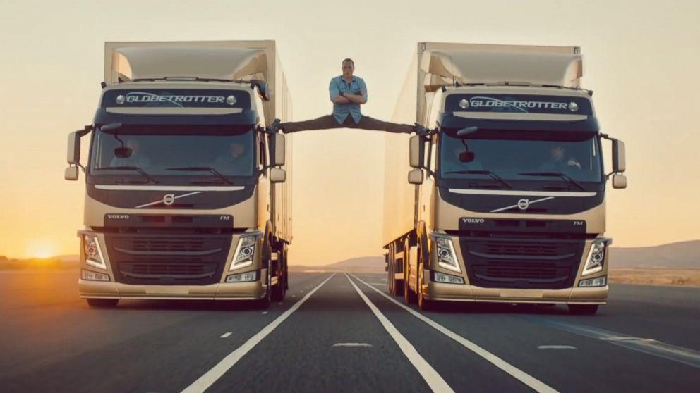 van Damme Volvo Splits